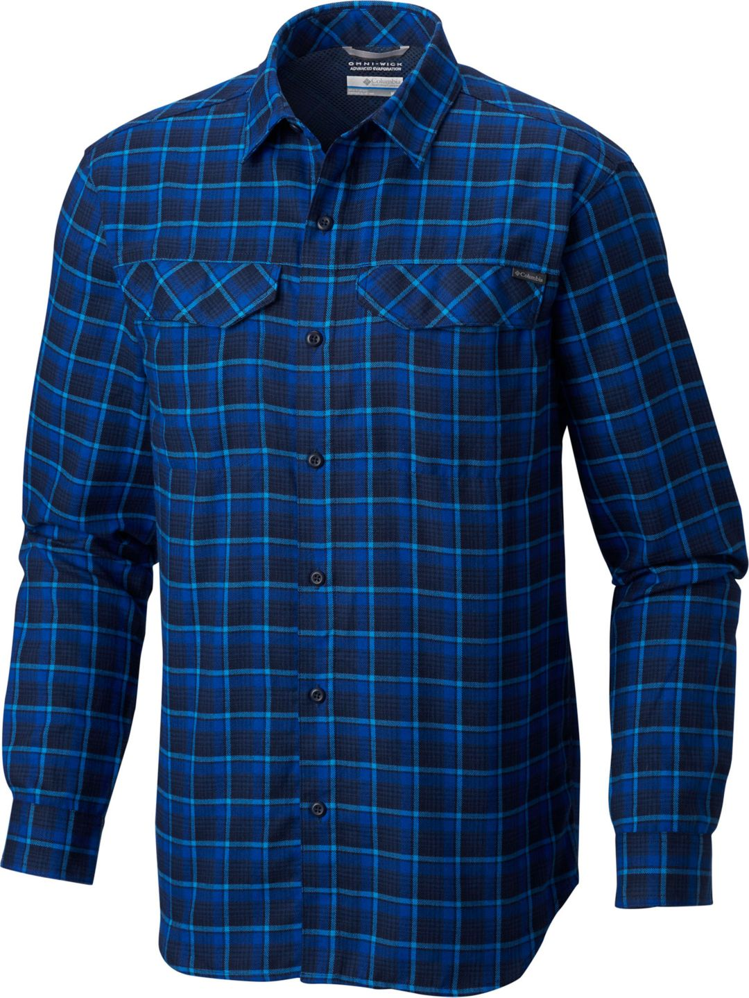 808a06c5927 Columbia Men's Silver Ridge Flannel Long Sleeve Shirt | DICK'S ...