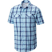 Columbia Men's Silver Ridge Lite Plaid Short Sleeve Shirt