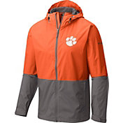 Columbia Men's Clemson Tigers Orange/Grey Roan Mountain Jacket