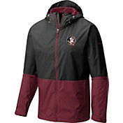 Columbia Men's Florida State Seminoles Black/Garnet Roan Mountain Jacket