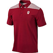 Columbia Men's Indiana Hoosiers Crimson Tech Utility Polo