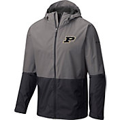 Columbia Men's Purdue Boilermakers Grey/Black Roan Mountain Jacket