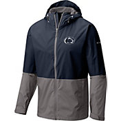 Columbia Men's Penn State Nittany Lions Blue/Grey Roan Mountain Jacket