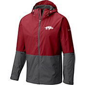 Columbia Men's Arkansas Razorbacks Cardinal/Grey Roan Mountain Jacket