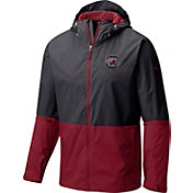 Columbia Men's South Carolina Gamecocks Black/Garnet Roan Mountain Jacket