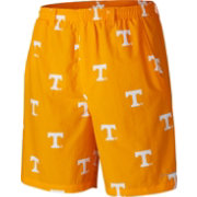 Columbia Men's Tennessee Volunteers Tennesse Orange  Backcast II Printed Performance Shorts
