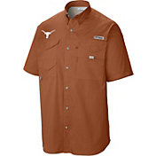 Columbia Men's Texas Longhorns Burnt Orange Tamiami Performance Shirt