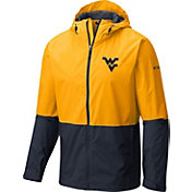 Columbia Men's West Virginia Mountaineers Gold/Blue Roan Mountain Jacket