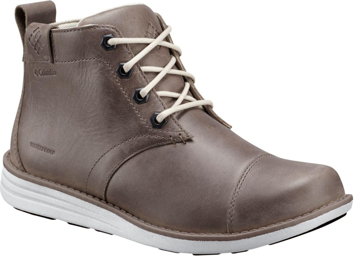 Columbia Men's Irvington Leather Waterproof Chukka Boots
