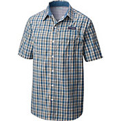 Columbia Men's PFG Super Low Drag Button Down Short Sleeve Shirt
