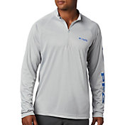 Columbia Men's Terminal Tackle Quarter Zip Long Sleeve Shirt