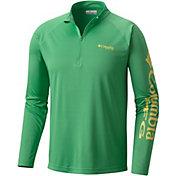Columbia Men's PFG Terminal Tackle Quarter Zip Long Sleeve Shirt