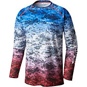 Columbia Men's PFG Terminal Tackle Camo Fade Long Sleeve Shirt
