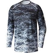 Columbia Men's PFG Terminal Tackle Camo Fade Long Sleeve Shirt