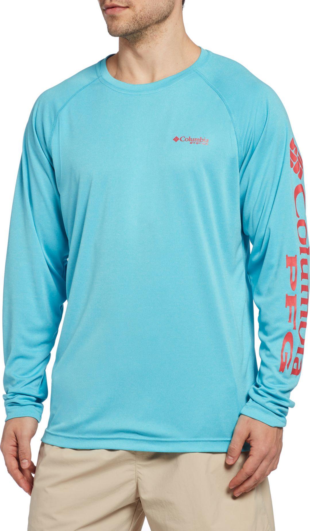 691d80bd021 Columbia Men's PFG Terminal Tackle Heather Long Sleeve Shirt ...