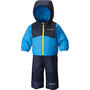 Columbia Toddler Double Flake Jacket and Bib Set