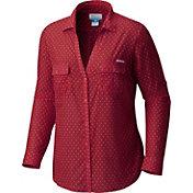 Columbia Women's Alabama Crimson Tide Crimson Sun Drifter Long Sleeve Shirt