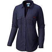 Columbia Women's Auburn Tigers Blue Sun Drifter Long Sleeve Shirt