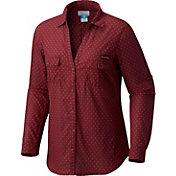 Columbia Women's Florida State Seminoles Garnet Sun Drifter Long Sleeve Shirt