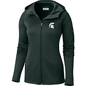 Columbia Women's Michigan State Spartans Green Saturday Trail Hooded Jacket