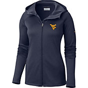 Columbia Women's West Virginia Mountaineers Blue Saturday Trail Hooded Jacket