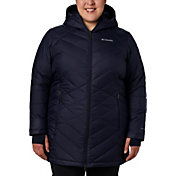 Columbia Women's Plus Heavenly Long Hooded Down Jacket