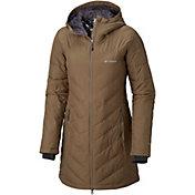 Columbia Women's Plus Heavenly Long Hooded Down Jacket