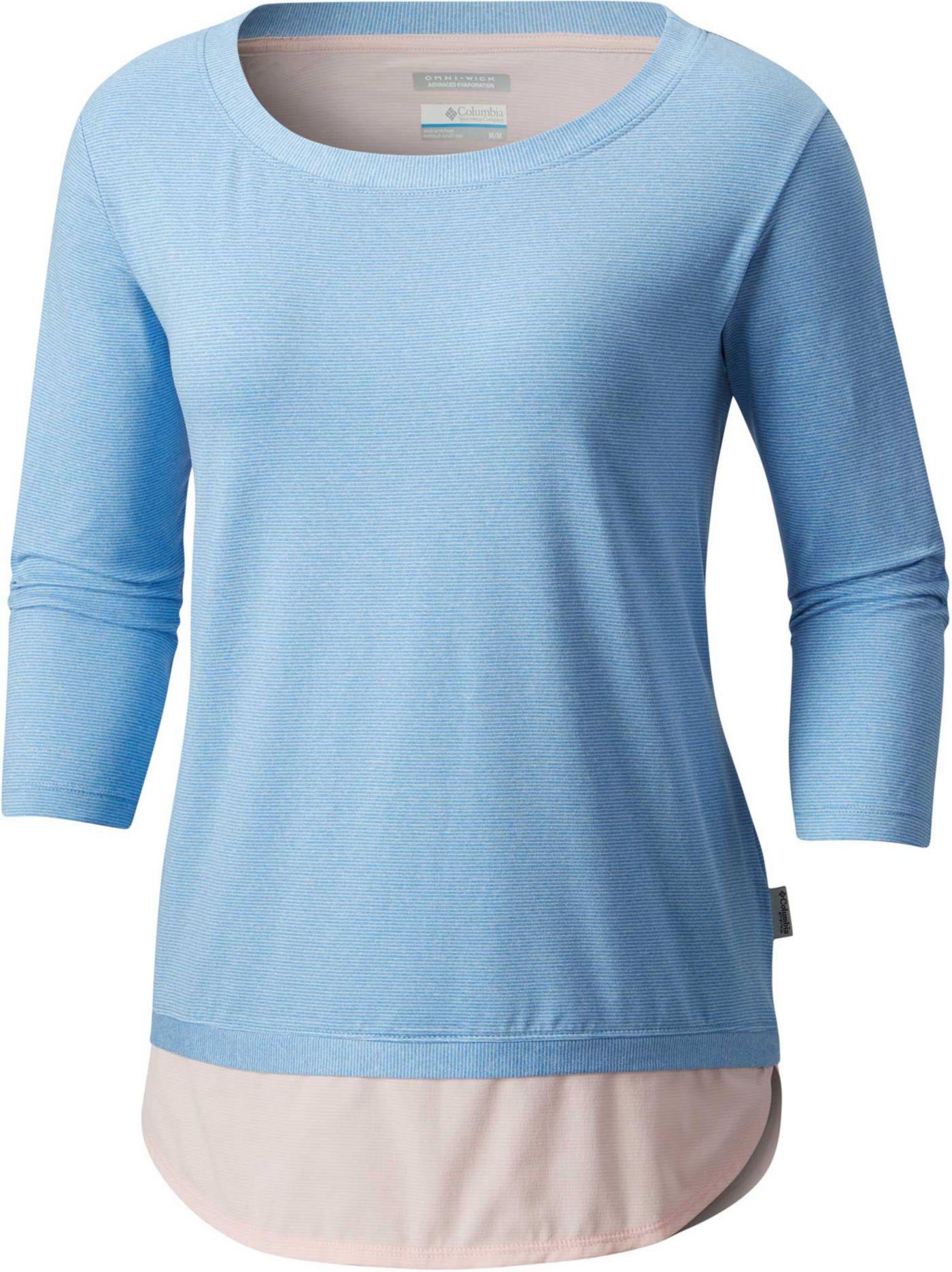 Columbia Women's PFG Reel Relaxed ¾ Sleeve Shirt