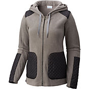 Columbia Women's Warm Up Fleece Full Zip Hoodie