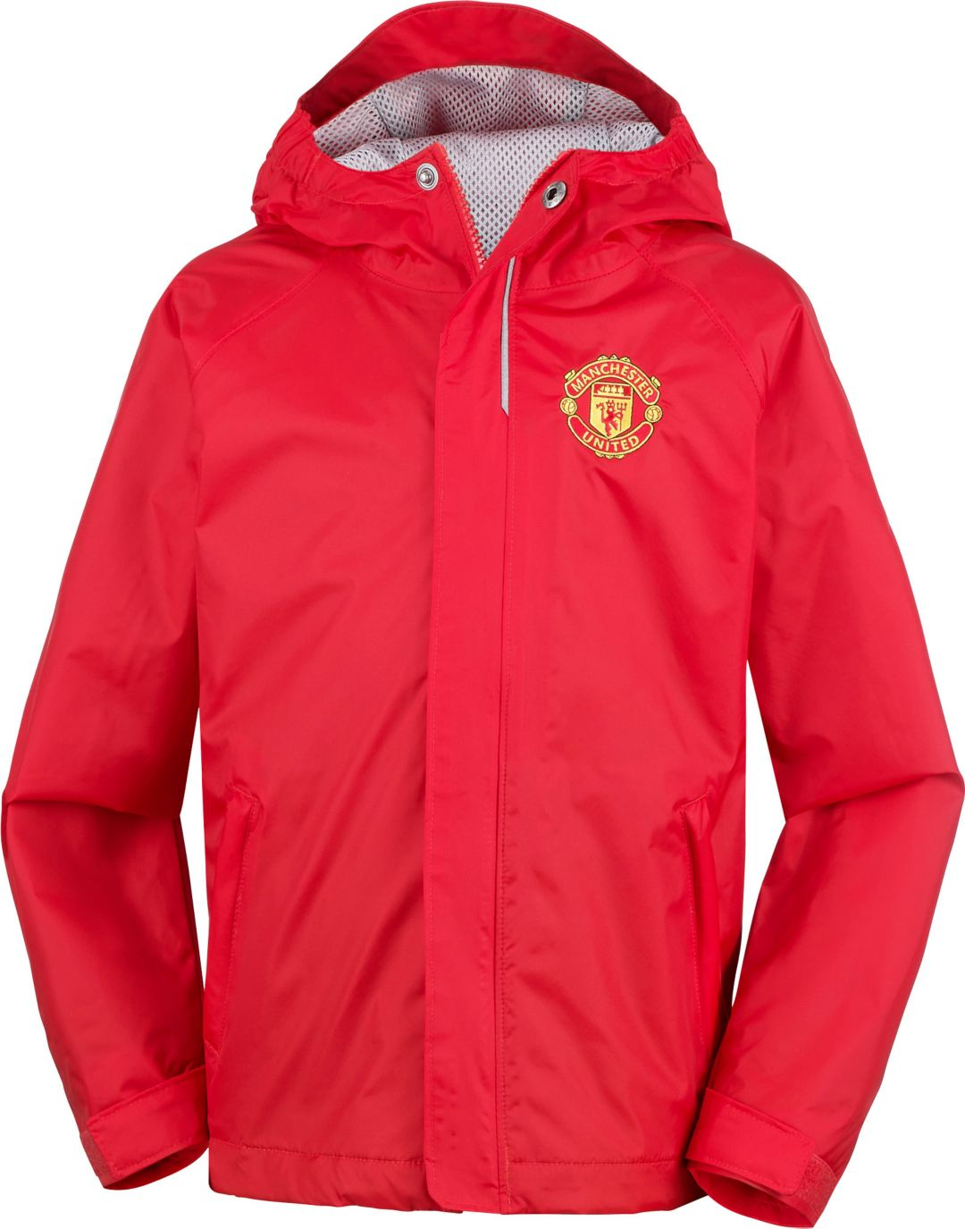 100% authentic fd0a7 9c8f0 Columbia Youth Manchester United Fast and Curious Red Jacket