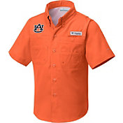 Columbia Youth Auburn Tigers Orange Tamiami Performance Shirt