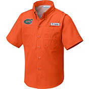 Columbia Youth Florida Gators Orange Tamiami Performance Shirt