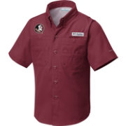 Columbia Youth Florida State Seminoles Garnet Tamiami Performance Shirt