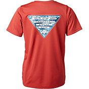 Columbia Boys' PFG Triangle Digicamo T-Shirt