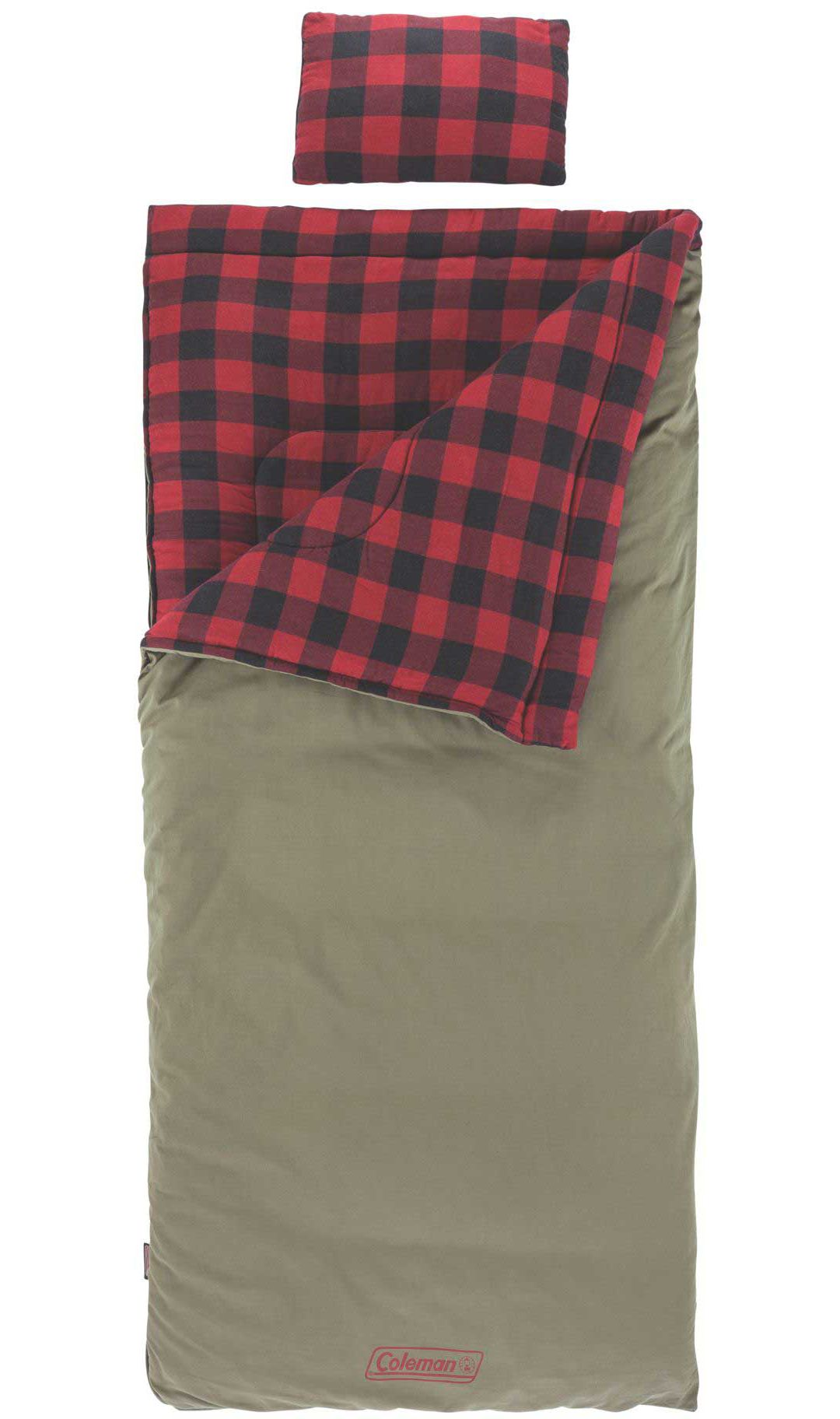 Coleman Tall 0 Sleeping Bag With Pillow