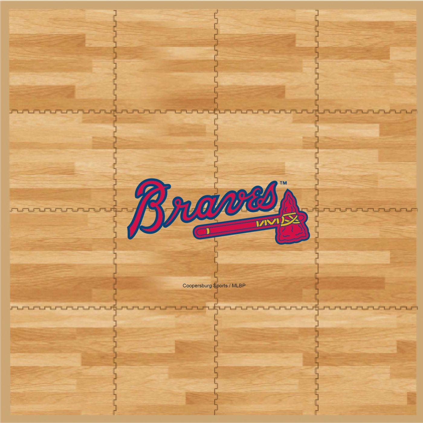 Coopersburg Sports Atlanta Braves Fan Floor