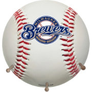 Coopersburg Sports Milwaukee Brewers Coat Rack