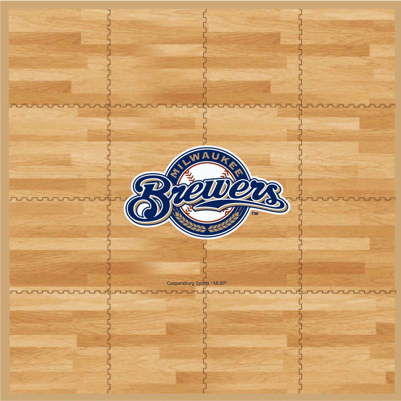 Coopersburg Sports Milwaukee Brewers Fan Floor