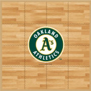 Coopersburg Sports Oakland Athletics Fan Floor