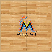 Coopersburg Sports Miami Marlins Fan Floor