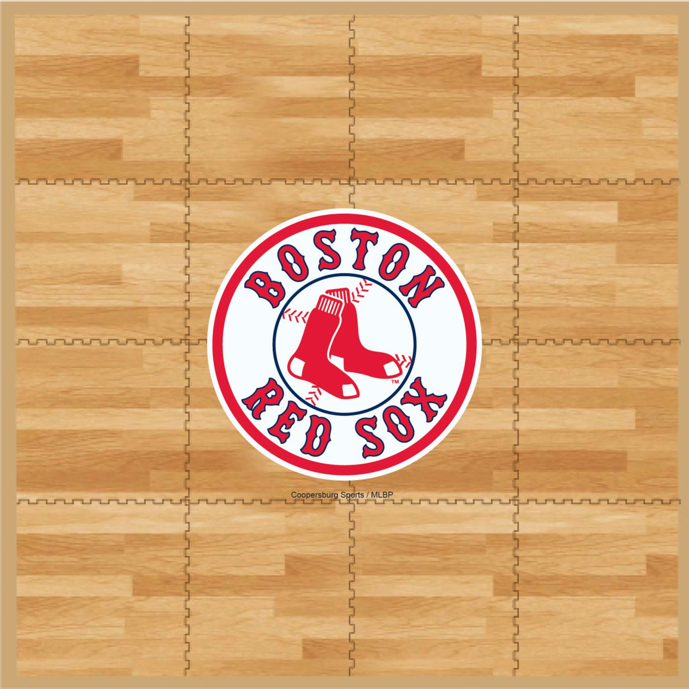 Coopersburg Sports Boston Red Sox Fan Floor