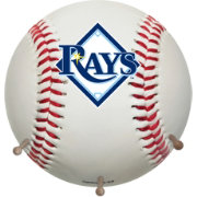 Coopersburg Sports Tampa Bay Rays Coat Rack