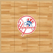 Coopersburg Sports New York Yankees Fan Floor
