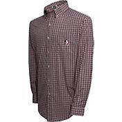 Campus Specialties Men's Florida State Seminoles Multi-Checkered Woven Long Sleeve Shirt