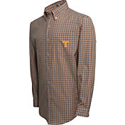 Campus Specialties Men's Tennessee Volunteers Tennessee Orange Multi-Checkered Woven Long Sleeve Shirt