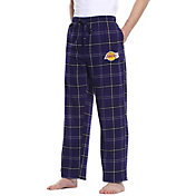 Concepts Sport Men's Los Angeles Lakers Plaid Flannel Pajama Pants