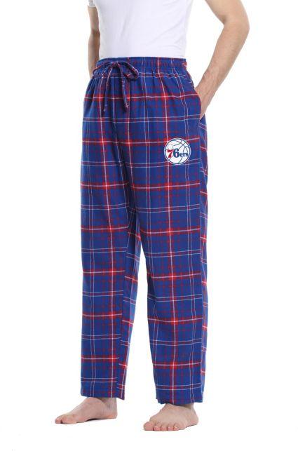 Concepts Sport Men s Philadelphia 76ers Plaid Flannel Pajama Pants ... 4f9d32b4d