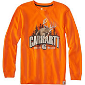 Carhartt Little Boys' Buck Long Sleeve Shirt