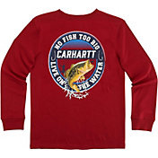 Carhartt Little Boys' Live on the Water Long Sleeve Shirt