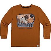 Carhartt Little Boys' Photoreal Brittany Spaniel Long Sleeve Shirt